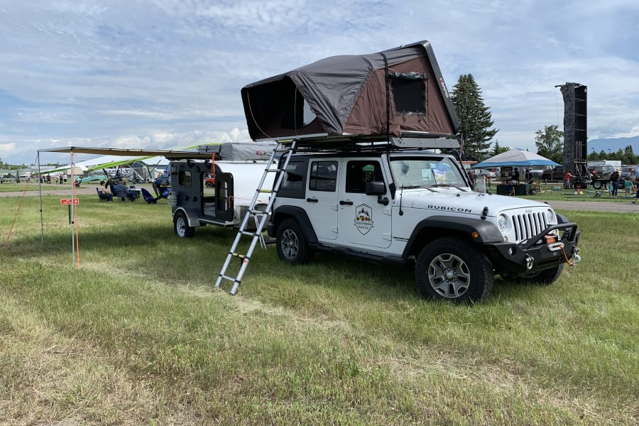 Jeep and Trailer package come fully loaded with all the camping gear needed for your trip.