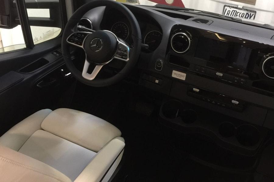 Driver seat. ultra plush leather
