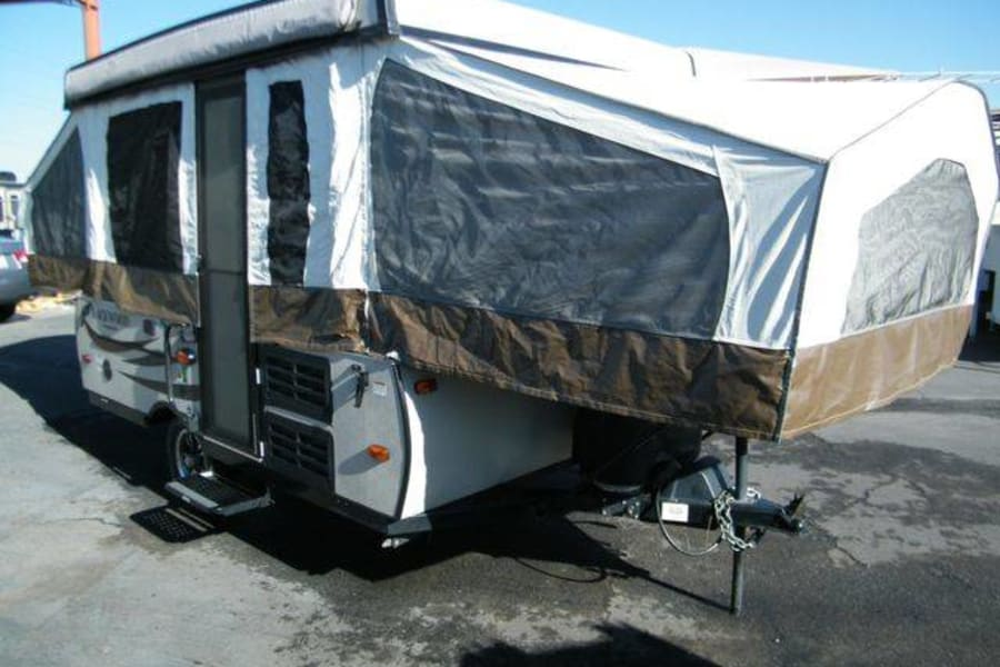Camper Popped Right side Front