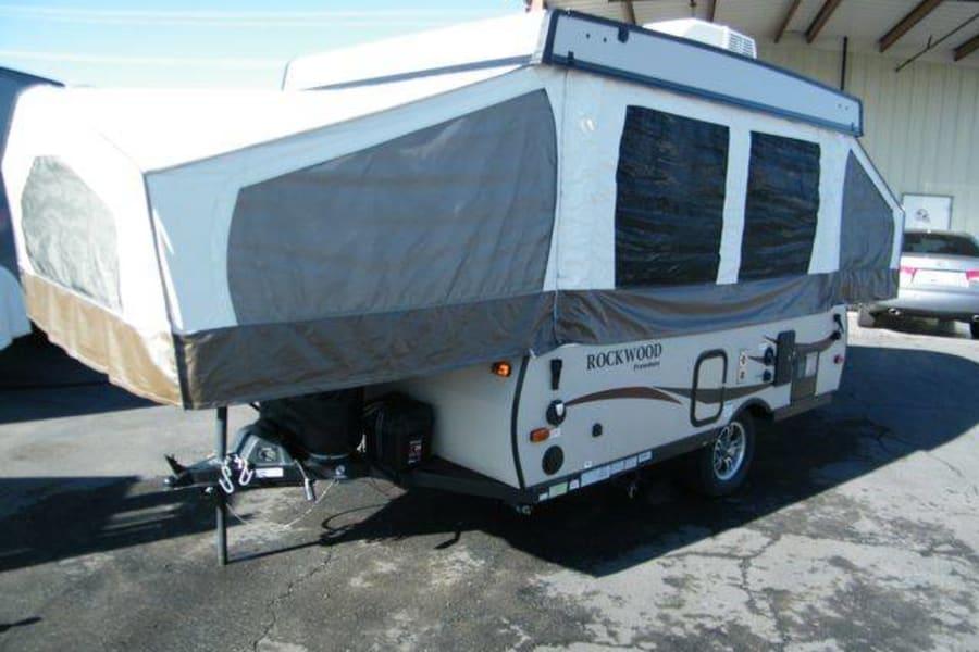 Camper Popped Left Side Front