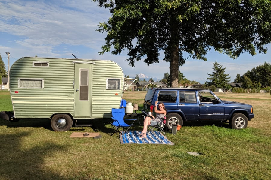 Vintage Trailer Rally in Lynden, WA