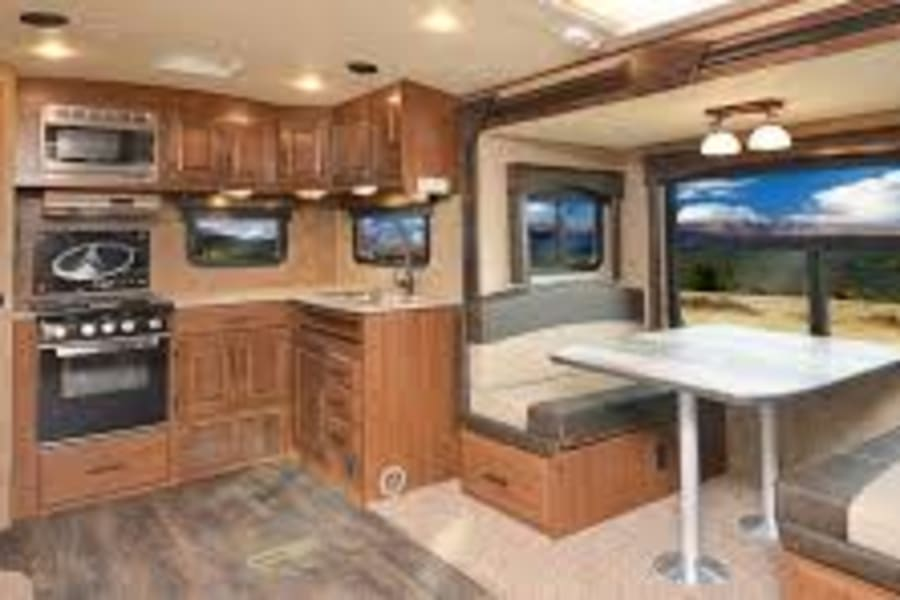 Rear Kitchen and dinette