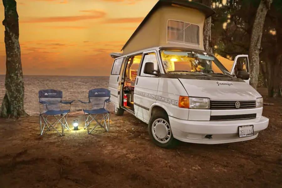 Another magical sunset camping on Kauai