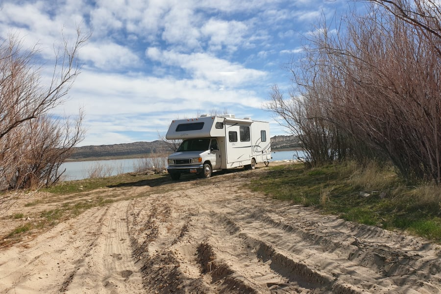 RV Handles cold and rainy weather very well.