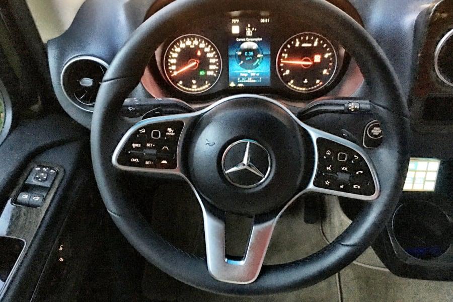 Premium soft leather steering wheel