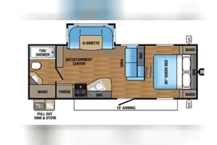 2017 24RBS Floorplan