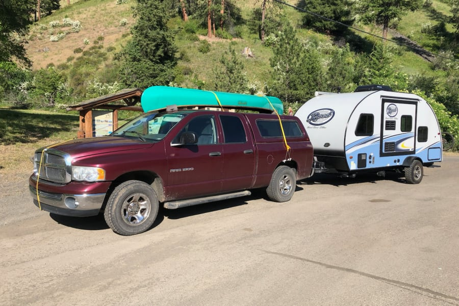 RAM 1500 with R-Pod in Wallowa County