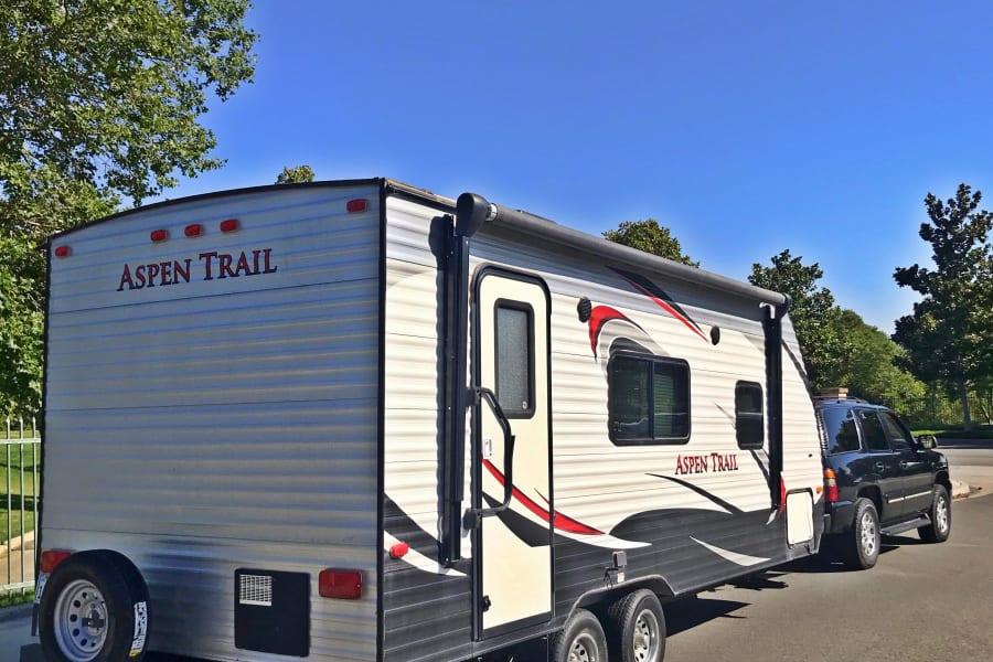 Dutchmen Travel Trailer Camper Rental Rent Near Me in Fontana California CA