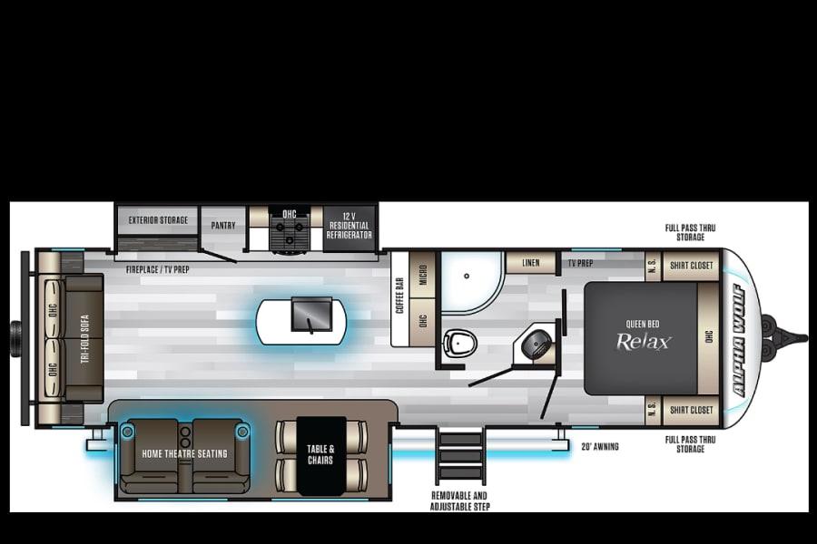 Camper layout