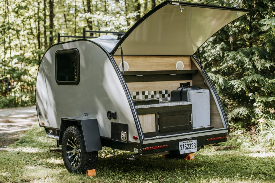 2021 Bushwhacker off road tear drop camper.