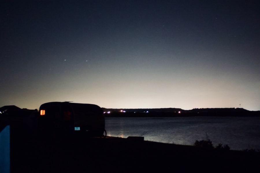 EisenhowerStatePark,Texas—prime location overlooking the lake