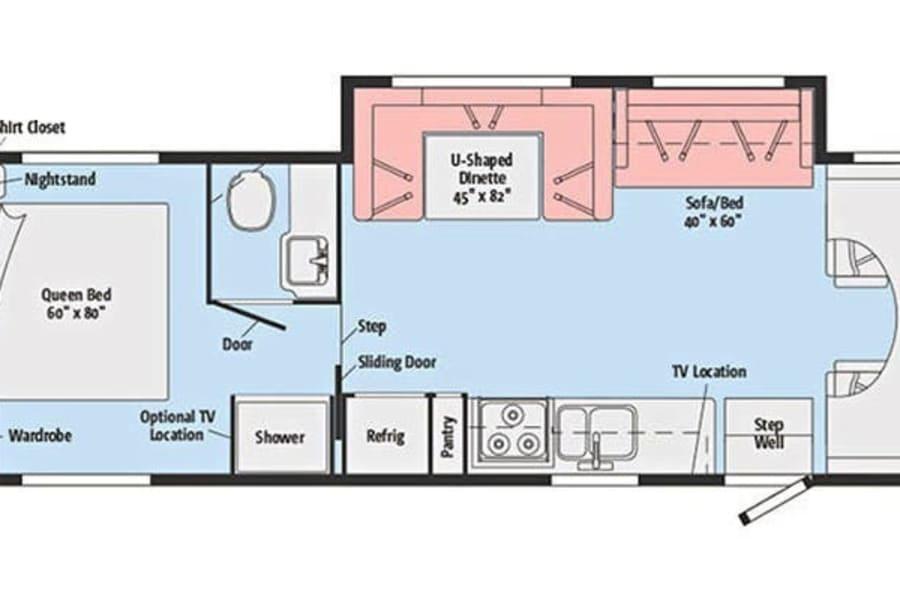 Floor plan of Winnie.