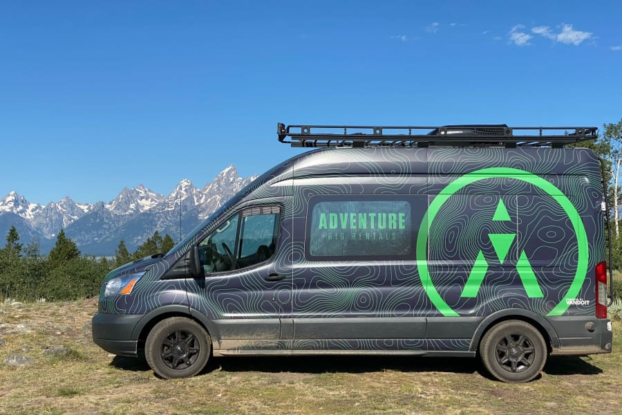 Can't beat the Tetons!