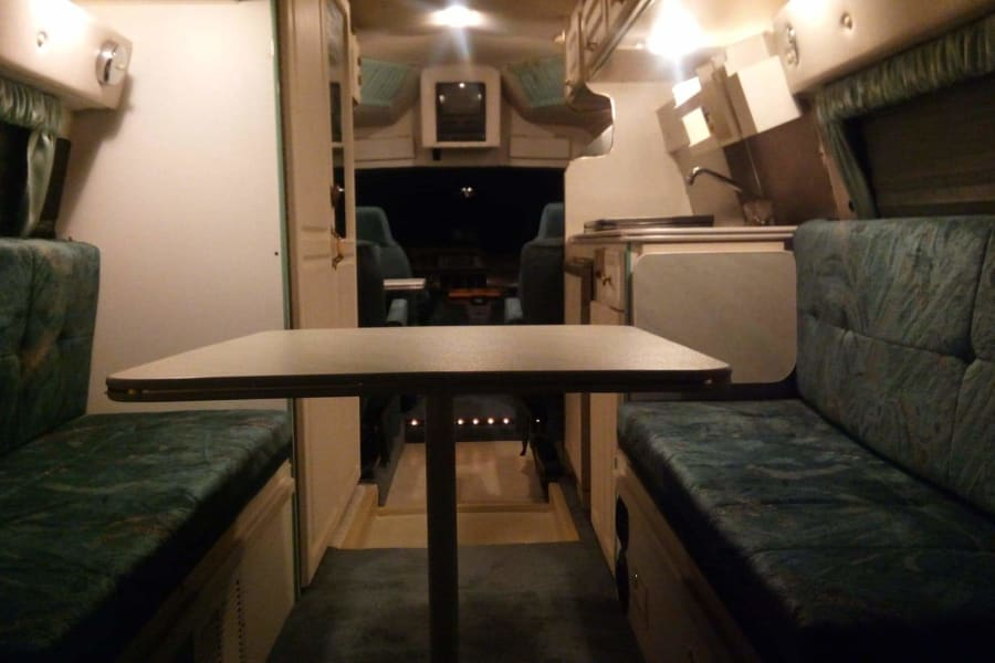 Dinning/ bedroom area