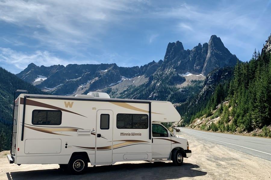 RV in the North Cascades