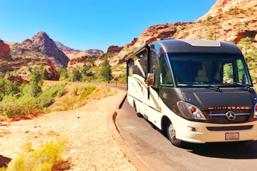 The perfect RV for your road trip. The Mercedes-Benz Diesel engine gives you up to 22 MPG. Book now and experience the luxury this RV offers