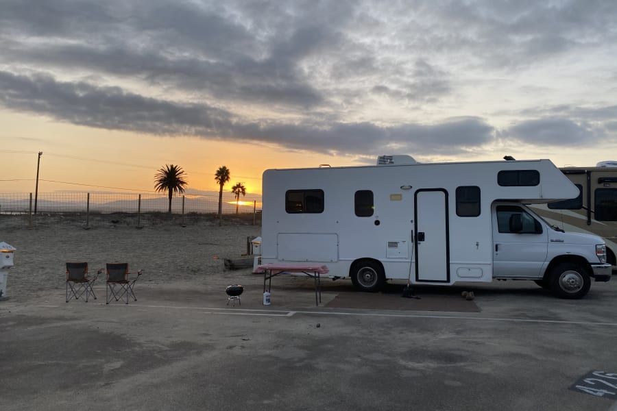 Enjoy Beautiful Sunrise at one of many Southern CA Beaches!