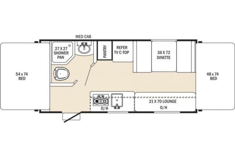 floorplan Fall Special $99 Night Bellingham, WA
