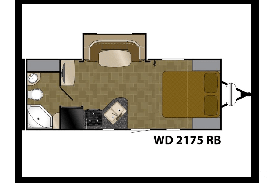 floorplan 2014 Heartland Wilderness Reedsburg, WI