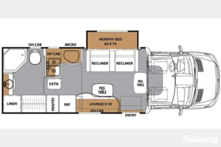 floorplan 2015 Coachmen Prism Portland, OR