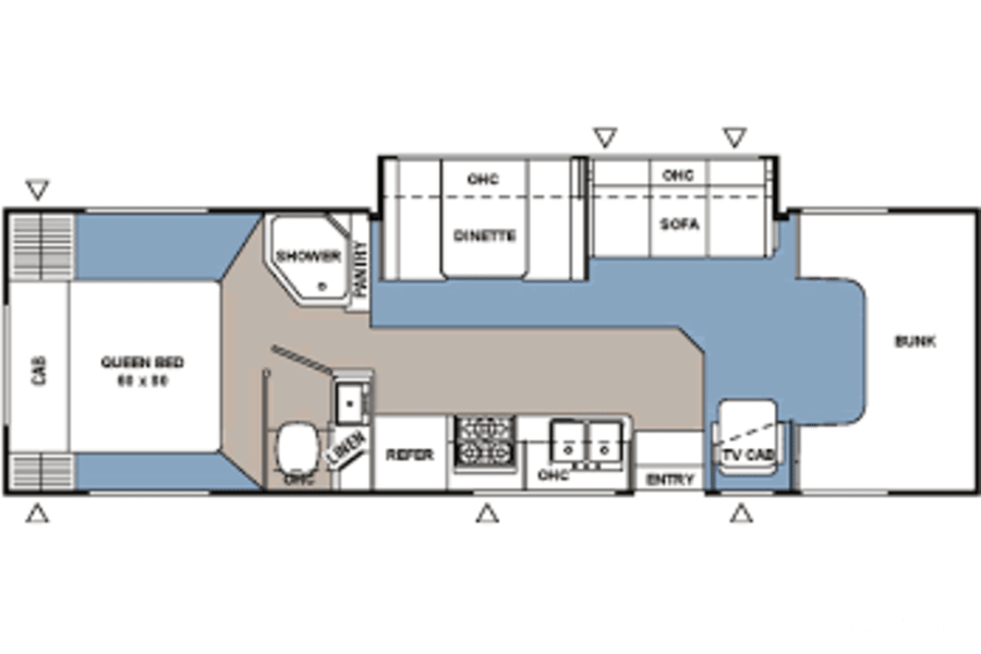 floorplan 2007 Coachmen Freelander Finksburg, MD