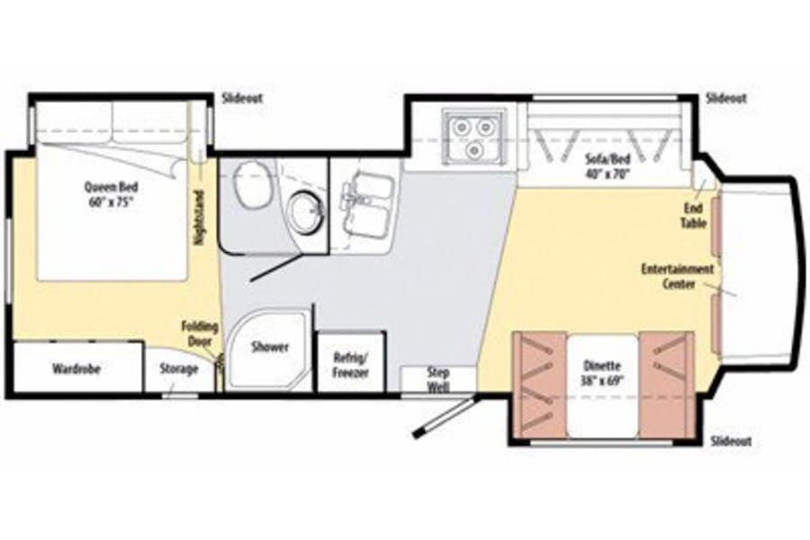 Itasca Cambria 30C floorplan