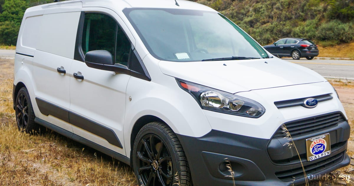 2016 Ford Transit Connect Motor Home Camper Van Rental In