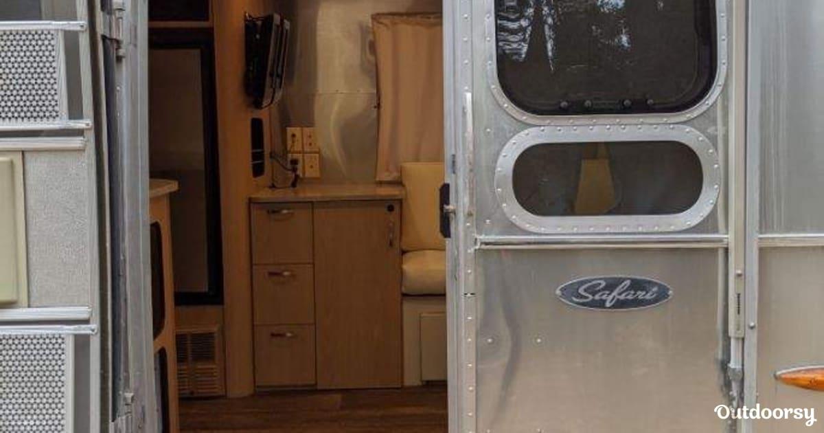 2008 Airstream Safari Trailer Rental In San Francisco Ca