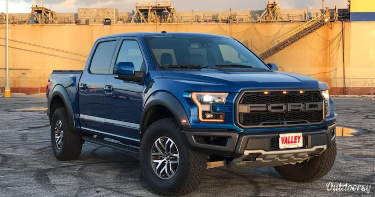 2018 Ford F 150 Raptor Motor Home Ute Rental In San