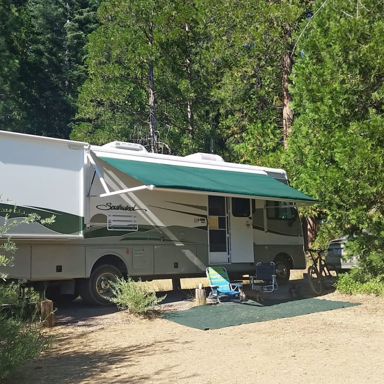Dry camping at PG & E's Cool Springs Campground in the Butt Valley Reservoir...it's fun saying BUTT! Been camping here for the last 10 years!
