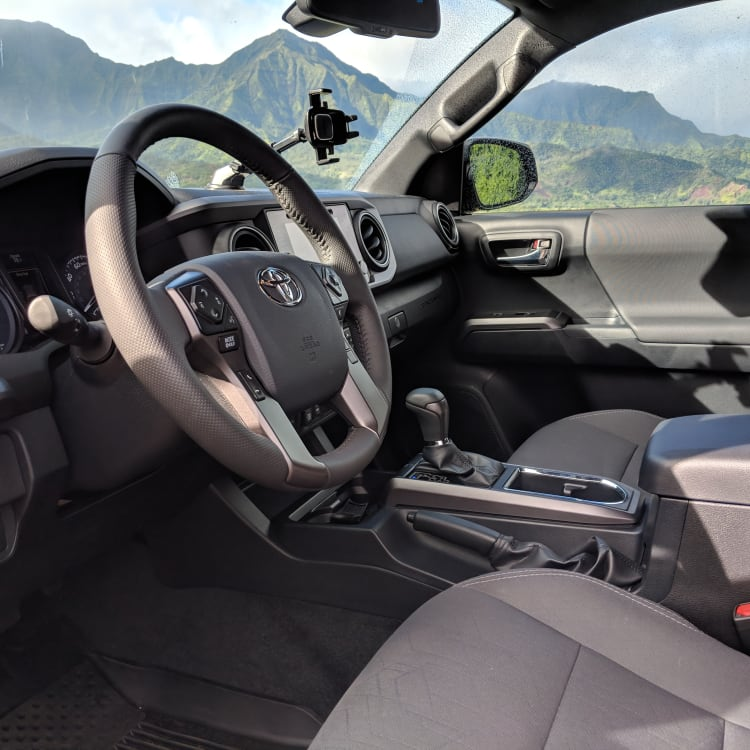 2019 Toyota Tacoma TRD Off Road Interior