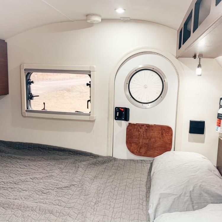 Spacious bed w/ storage