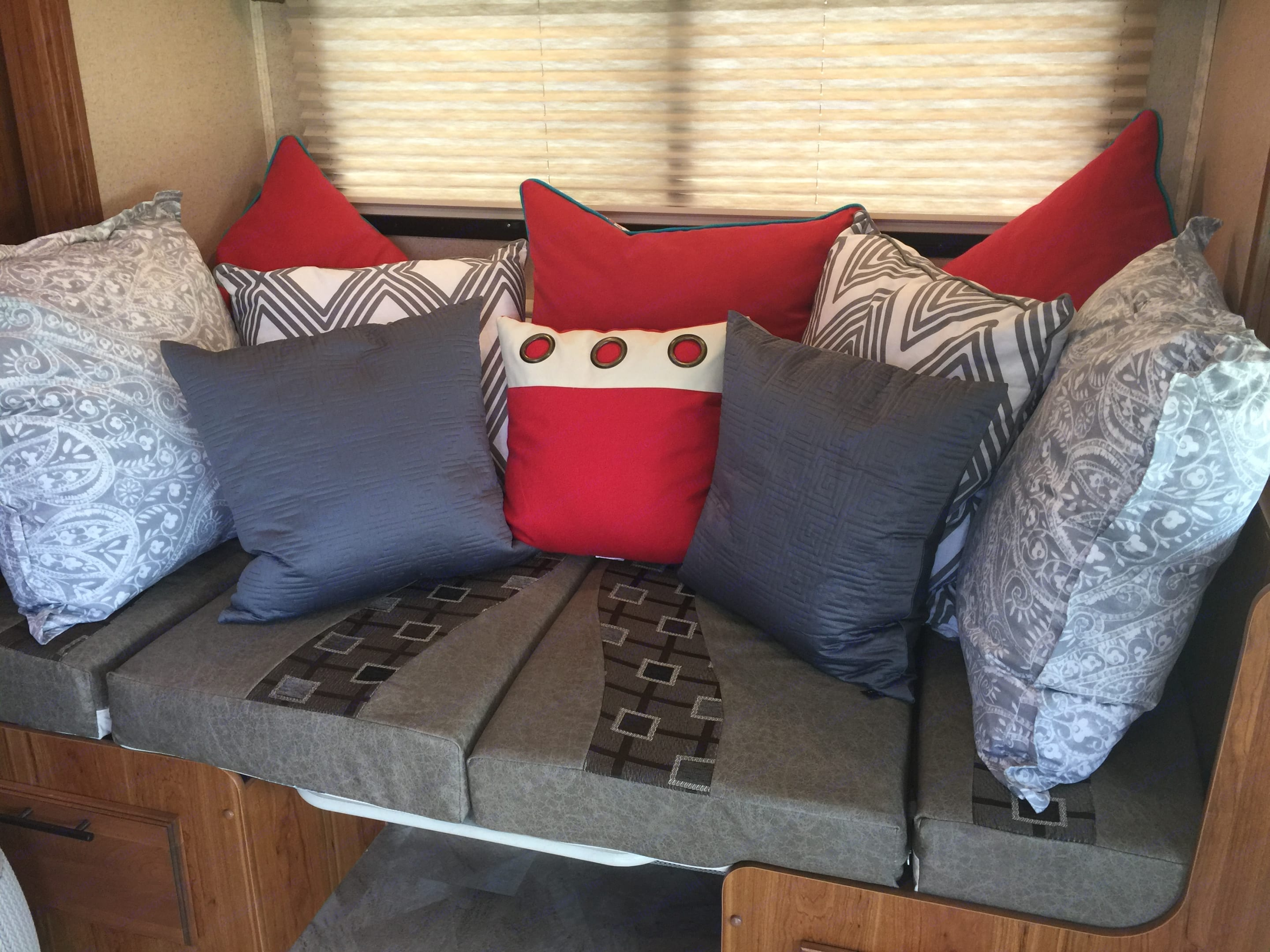 Another view of the couch. Jayco Melbourne 2017