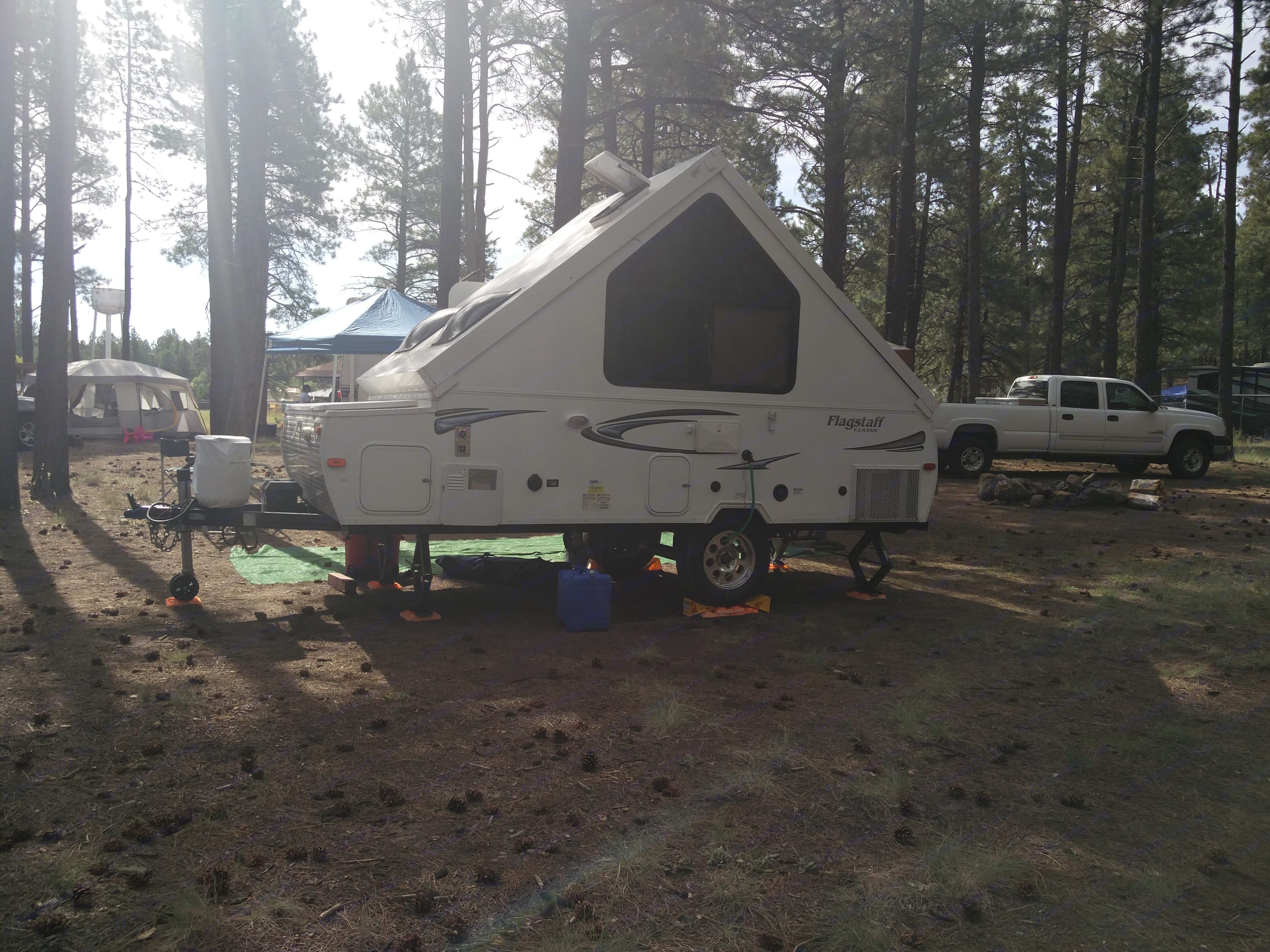 Outside Driver side.. Forest River Flagstaff 2013