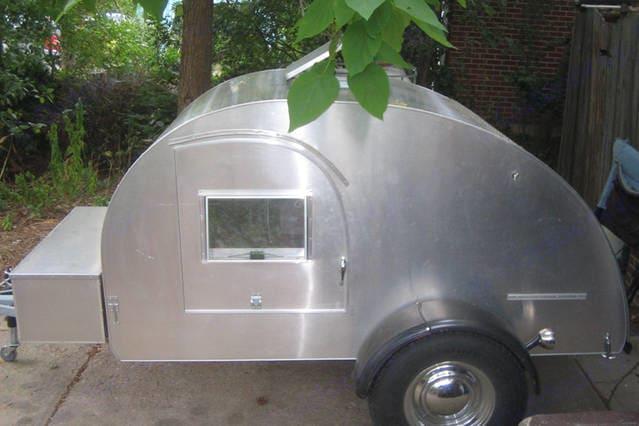 Custom Teardrop Camper 2004