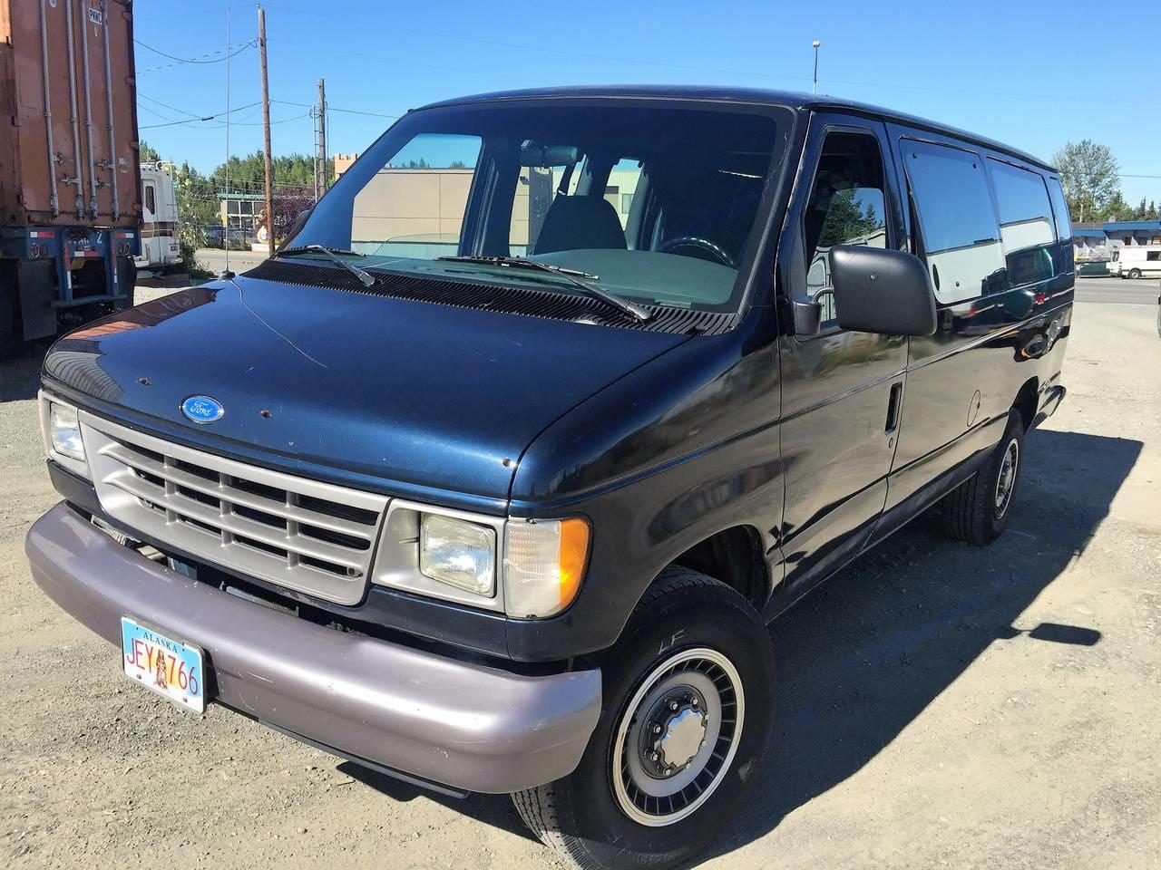 Exterior Driver side . Ford Camper Van 1994