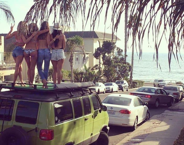 Rooftop hangs!. Dodge B2500 Van 1997