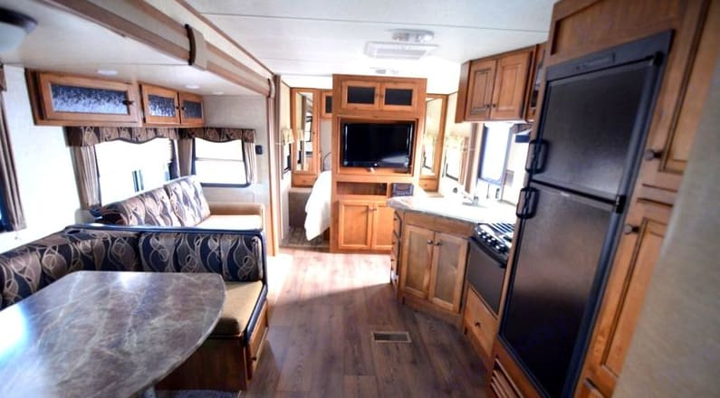 All of the comforts of home.... Keystone Sprinter 2013