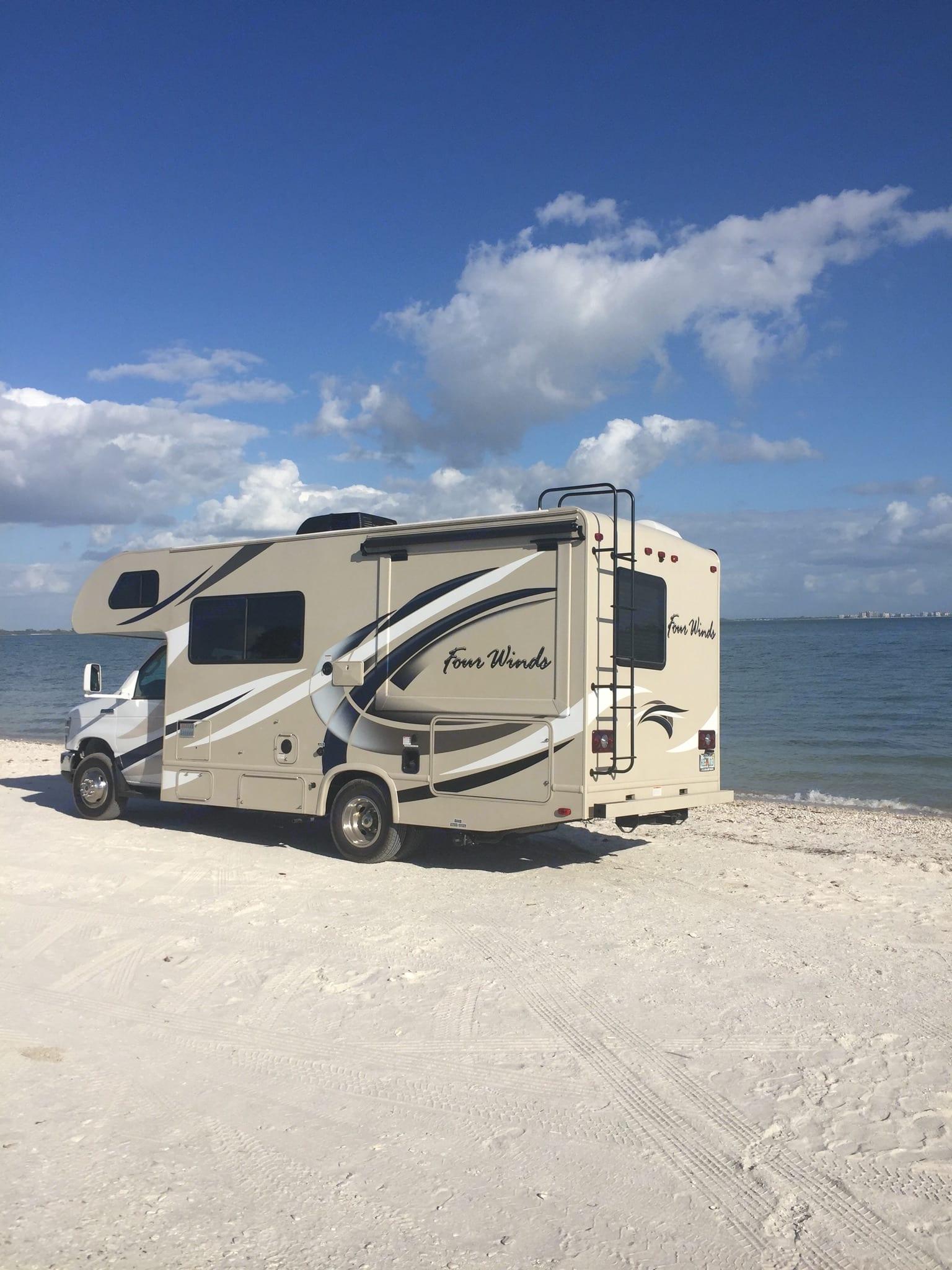 Driving the dream!  Sanibel Island, Florida!. Thor Motor Coach Other 2018