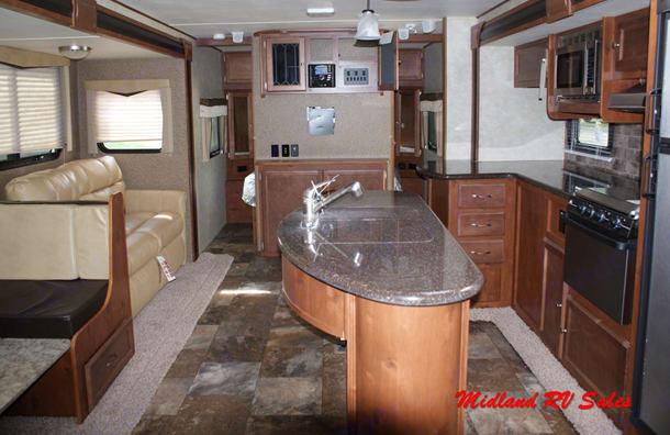 Streamlite 29BIK Island Kitchen. Gulf Stream 29 BIK 2015