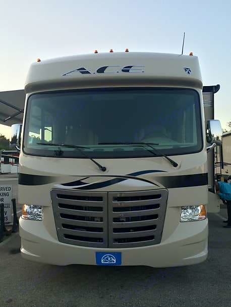 Front. Thor Motor Coach A.C.E 2015