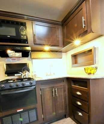 kitchen. Forest River Stealth 2015