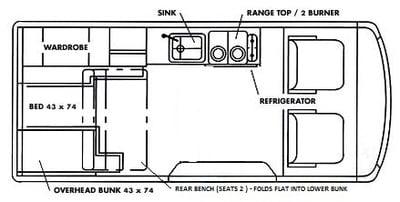 Volkswagen Eurovan Full Camper 2000