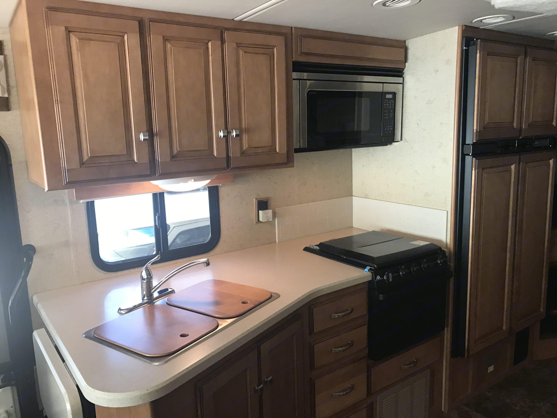 Kitchen. Winnebago Vista 2014