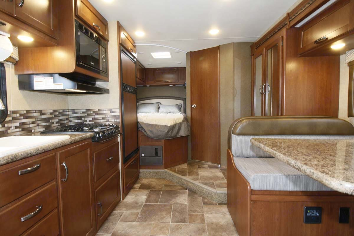 Slider is on dinette    . Thor Motor Coach Chateau 2017