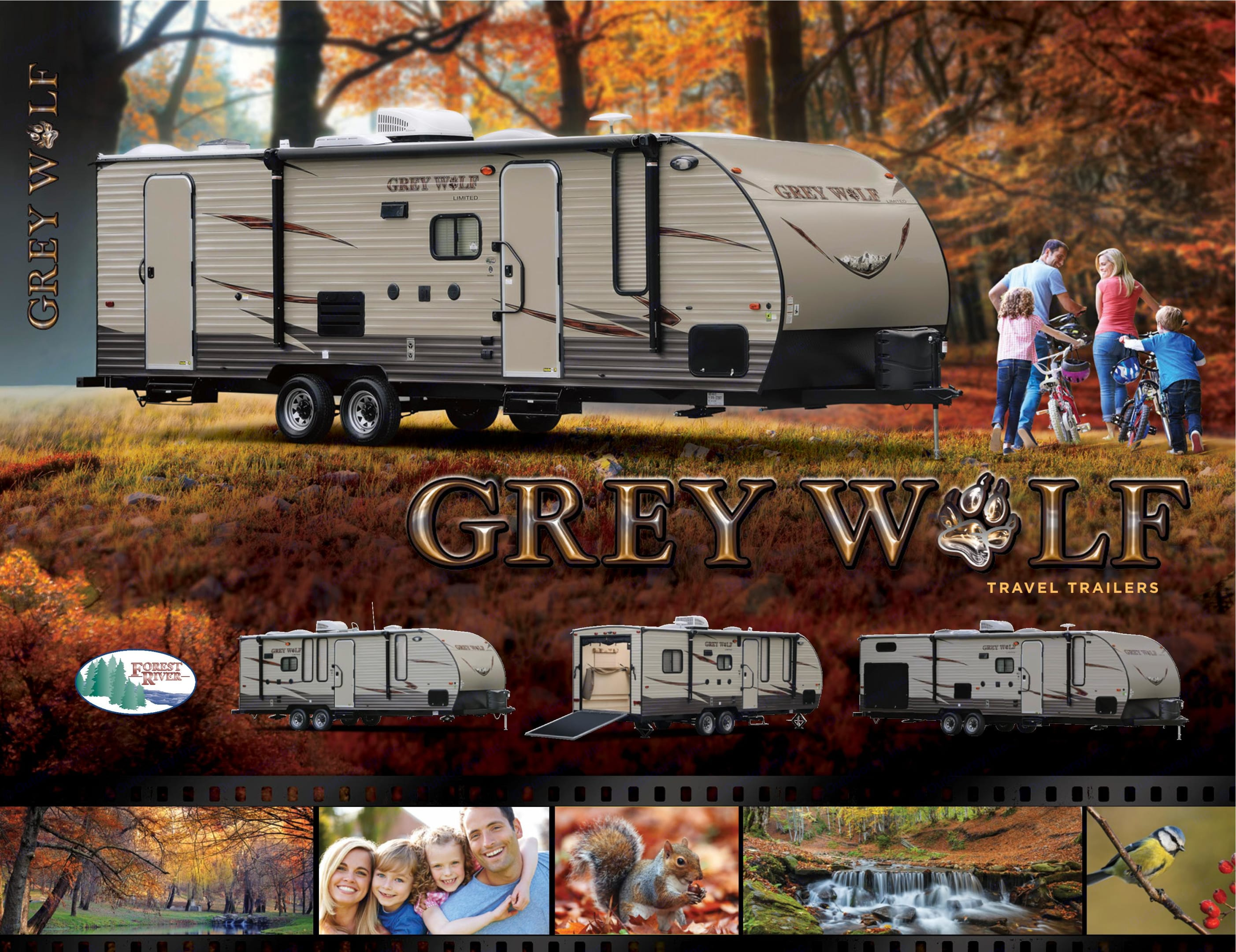 Exterior View. Forest River Cherokee Grey Wolf 2016