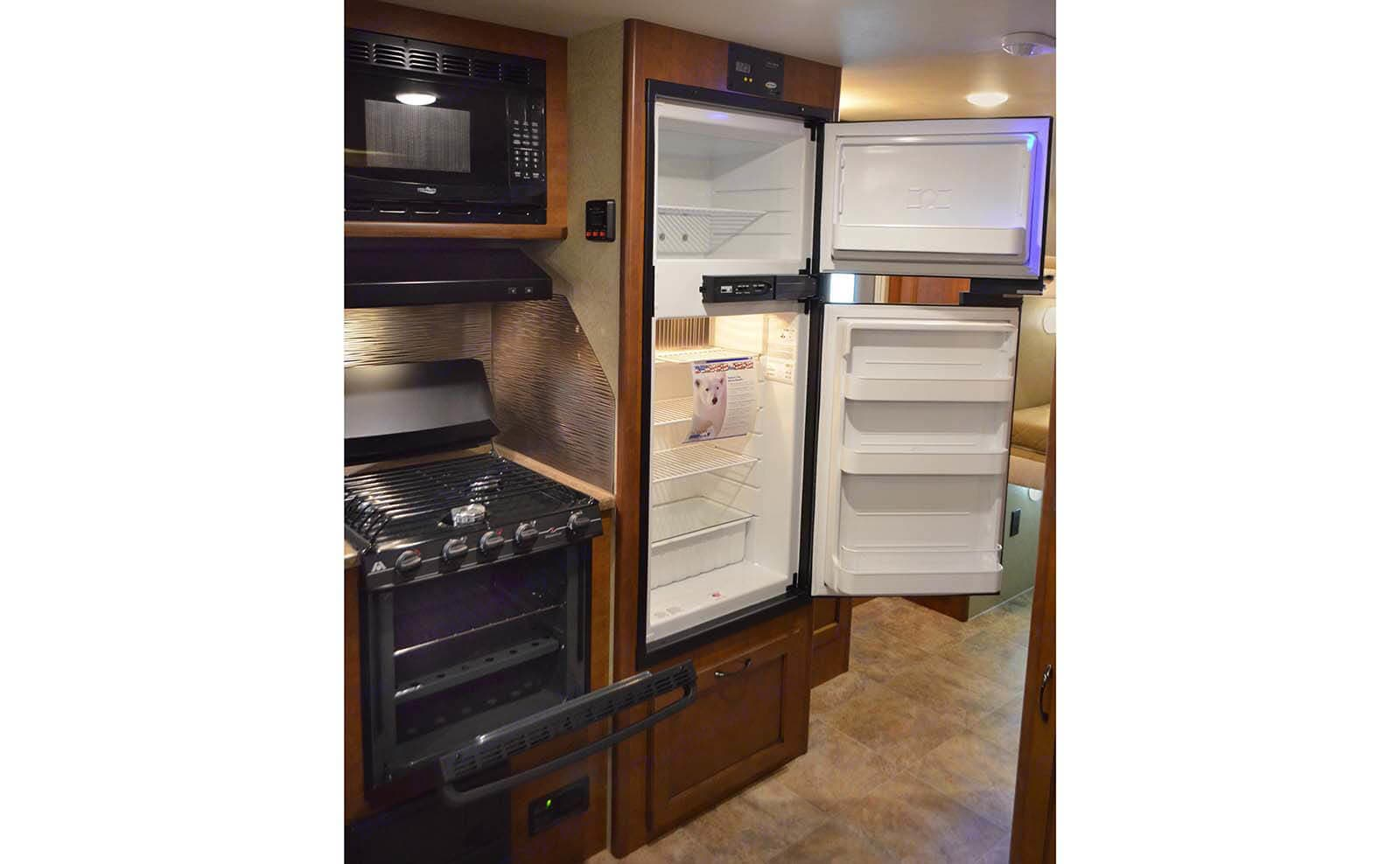 Refrigerator and Freezer. Lance 2185 2015