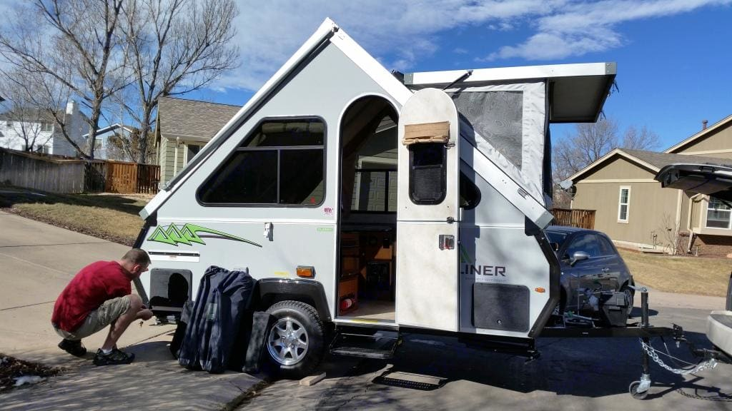 Easy set up. A-Liner Classic 2015