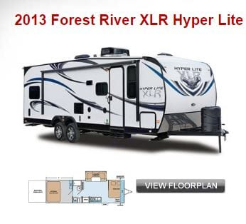 Very nice trailer with real mattresses, that we actually purchased, so sleeping is great. . Forest River Nitro Xlr 2013