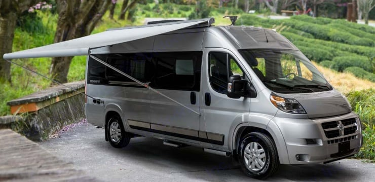 The Travato drives like a dream and fits in a regular parking spot for maximum flexibility. Most people don't even know it is a camper. . Winnebago Travato 2018